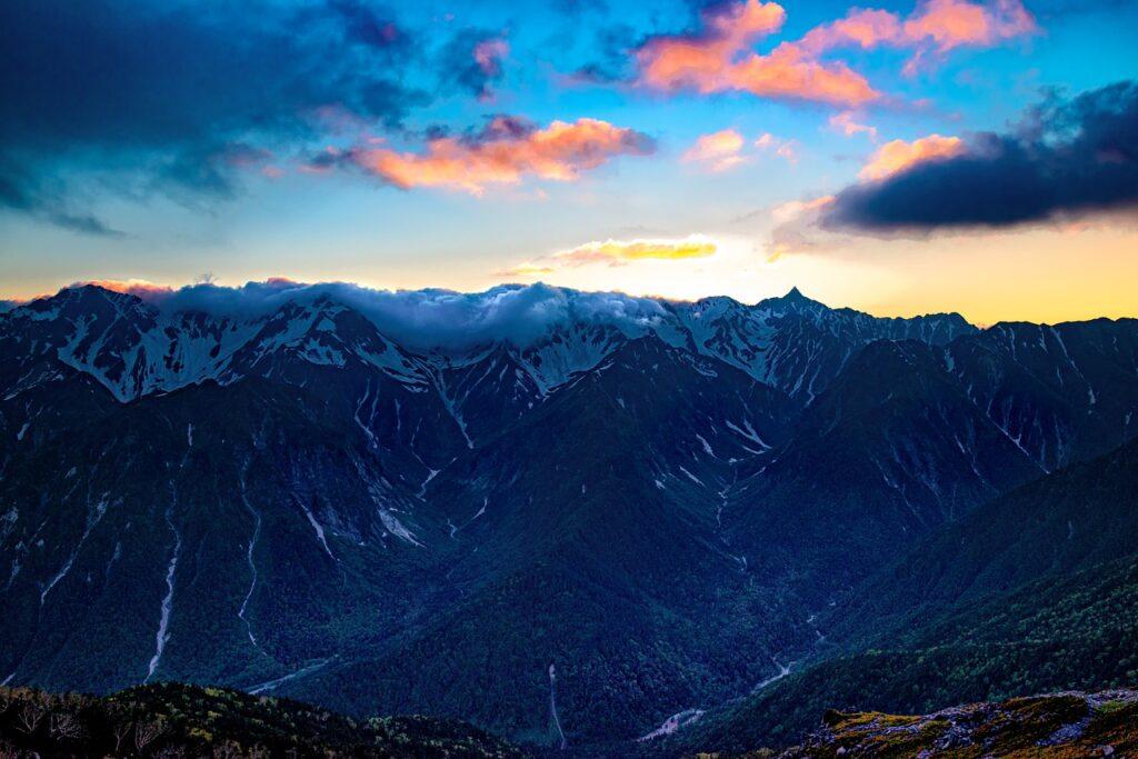 長野 山岳
